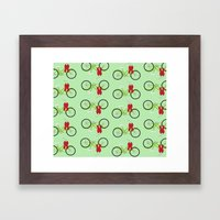 Christmas Wrapping Framed Art Print