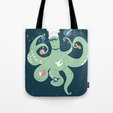 The Octopus Chef Tote Bag