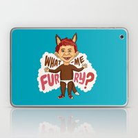 What—me furry? Laptop & iPad Skin
