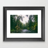 Fall River Framed Art Print