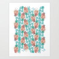 cactus skin all-over Art Print