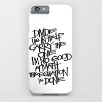 iPhone & iPod Case featuring Divide Us by Eliesa Johnson