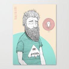 BEARDMAN Canvas Print