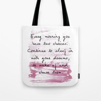 Everymorning Watercolor Tote Bag