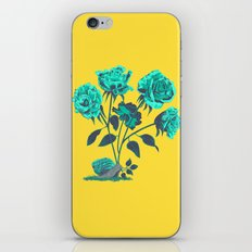 Snails N' Roses iPhone & iPod Skin