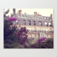 Paris Charm Canvas Print