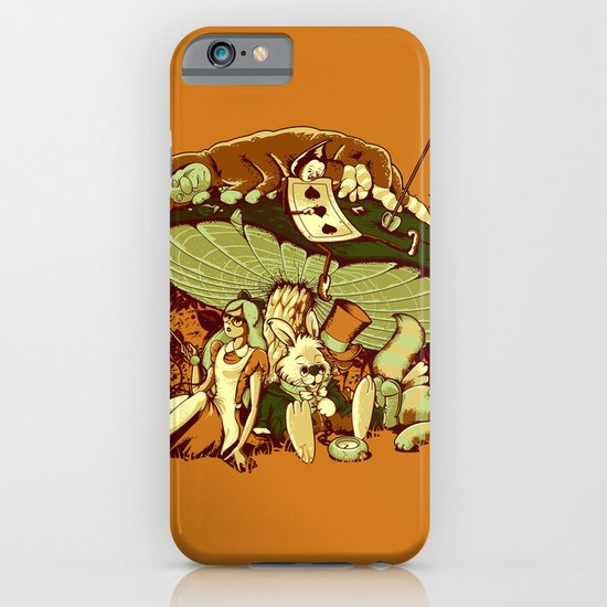 STONED IN WONDERLAND [REMIX] iPhone & iPod Case