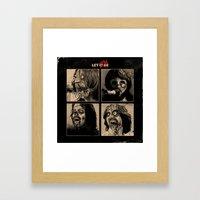 Let it (Zom)Be Framed Art Print