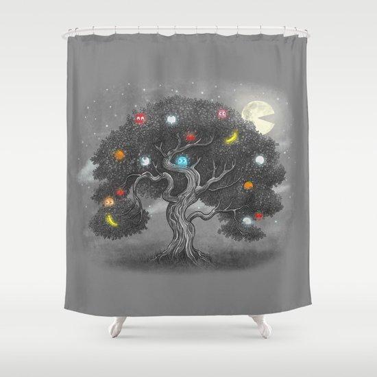 Midnight Snack  Shower Curtain