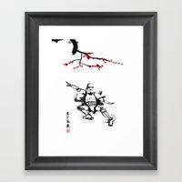 Eastern Storm Framed Art Print
