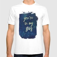 You're In My Stars Mens Fitted Tee White SMALL
