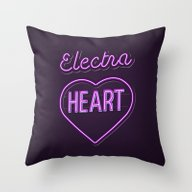 Electra Heart - Marina A… Throw Pillow