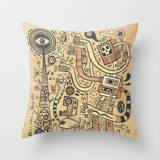 Arbracosmos Throw Pillow