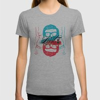 Lust Womens Fitted Tee Athletic Grey SMALL