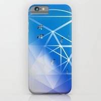 Gulls in Hexagram Flight iPhone 6 Slim Case