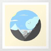 BandNames : The Avalanch… Art Print