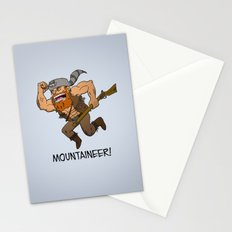 Mountaineer!  Stationery Cards