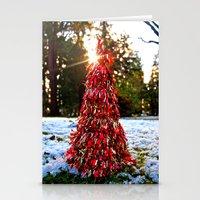 Yuletide tree Stationery Cards