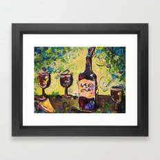 Lush Buffet Framed Art Print