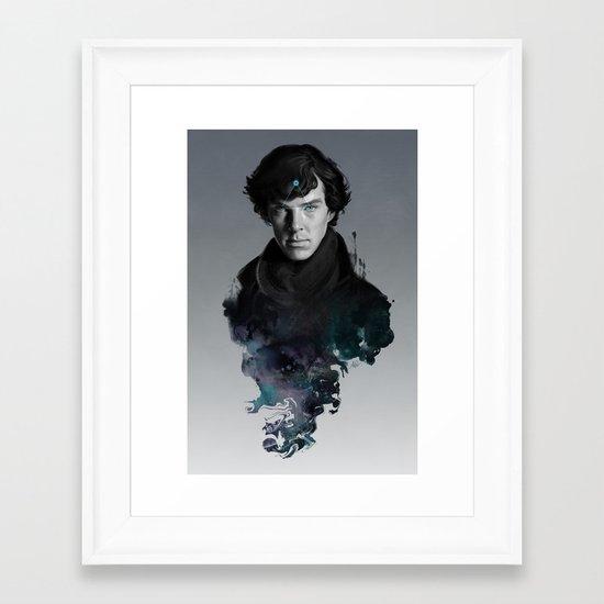 The Excellent Mind Framed Art Print