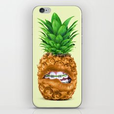 PINEAPPLE LIPS iPhone & iPod Skin