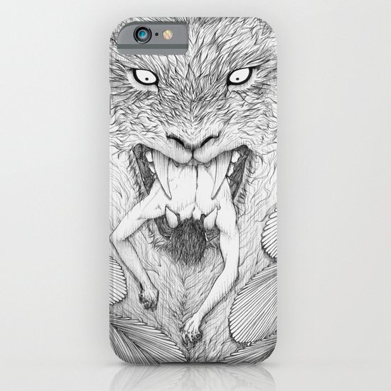 The Giant Winged Lion iPhone & iPod Case