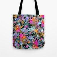 Tropicana - Black Tote Bag