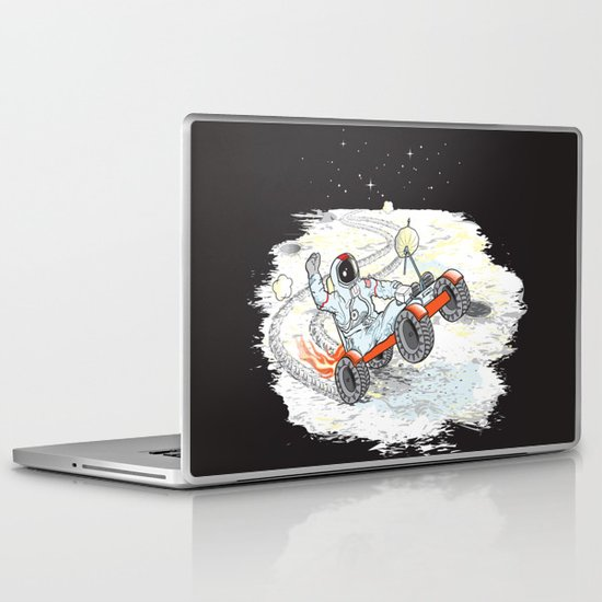 Space Dementia Laptop & iPad Skin