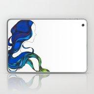 Hair Like The Sea Laptop & iPad Skin