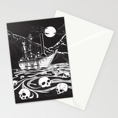 Steamboat across the Styx Stationery Cards