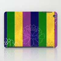 Chinese Flowers & Stripe… iPad Case
