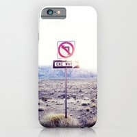 One Way to nowhere iPhone 6 Slim Case