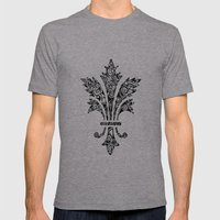 Royal Mens Fitted Tee Athletic Grey SMALL