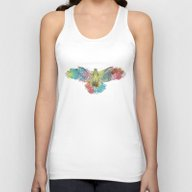 Colorful Eagle Unisex Tank Top