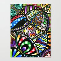 Carnival Of Colour Canvas Print