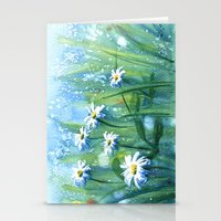Daisies II Stationery Cards