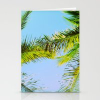 Palm Trees Tropical Phot… Stationery Cards