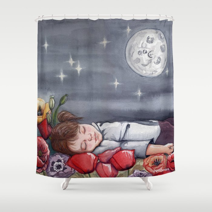 Sof A Dreaming With Peppa Pig Shower Curtain By