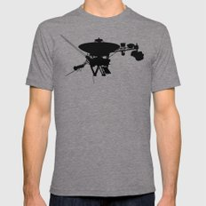 Voyager Mens Fitted Tee Tri-Grey SMALL