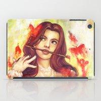Butterfly Shout iPad Case