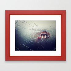 Implode Framed Art Print