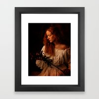 A peasant woman Framed Art Print