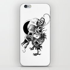 Silver And The Beast iPhone & iPod Skin