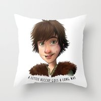 A Little Hiccup Goes A L… Throw Pillow