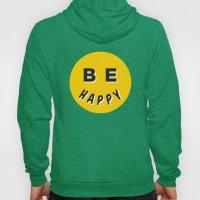 Be Happy Smiley Hoody