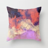 Throw Pillow featuring Into The Sun by Galaxy Eyes