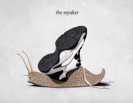 The Sneaker Art Print