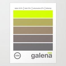 galena//single hop Art Print