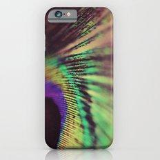 Peacock feather macro Slim Case iPhone 6s