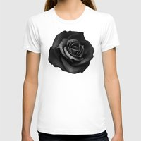 rose T-shirts featuring Fabric Rose by Ruben Ireland